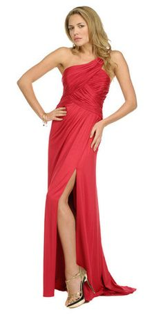 Jessica Red Gown by ARIELLA @girlmeetsdress