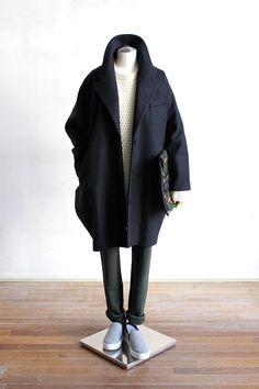 Suggestion of The Woman's 2014 Winter STYLE Mature Mens Fashion, Latest Mens Fashion, Urban Fashion, Autumn Street Style, Winter Style, Minimal Fashion, Timeless Fashion, Fall Outfits, Fashion Outfits