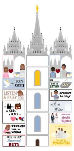 Lesson Plans of an OCD Primary Chorister: I Love to See the Temple