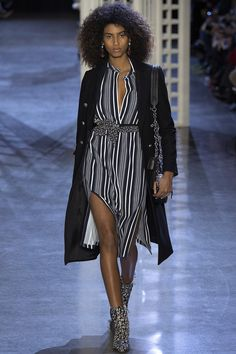You can count on beautiful slits and movement on an Altuzarra runway - Fall 2016