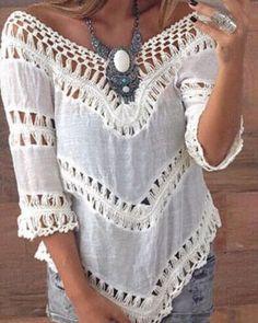Blusa ideal para compor vários Looks