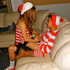 Couples where's Waldo costume