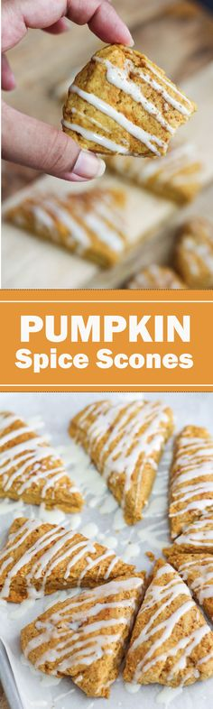 These scones are going to be one of my favorite baked fall recipes.