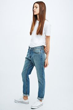 Cheap Monday Thrift Jeans in Trashed Denim