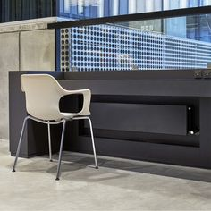 Hudevad Integral is a very robust radiator which fits into any environment. A stylish and timeless design with a flat front complying with today's heating design demands. Radiators, Timeless Design, Bespoke, Flat, Chair, Architecture, Furniture, Home Decor, Taylormade