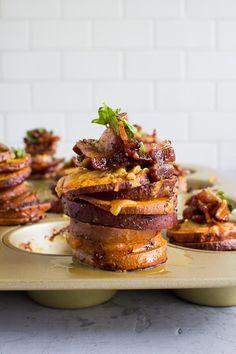 Sweet Potato Stacks