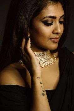 4 Stunning, Different And Inspiring Looks Done By Vithya! Indian Bridal Makeup, Bridal Makeup Looks, Bridal Looks, Wedding Makeup, Indian Bridal Hairstyles, Bride Hairstyles, Vithya Hair And Makeup, Eye Makeup, Kerala Bride