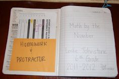 Setting Up the Math Notebook