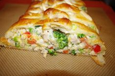 Pampered Chef Broccoli Braid