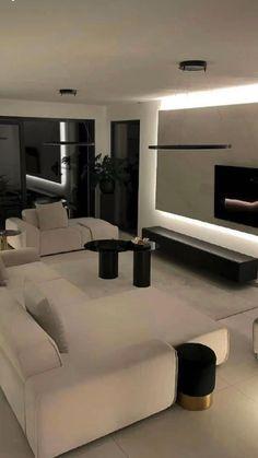 Home Room Design, Dream Home Design, Modern House Design, Dream House Interior, Luxury Homes Dream Houses, Decor Home Living Room, Living Room Designs, Luxury Home Decor, Apartment Interior