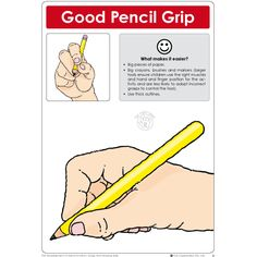 The Development of Appropriate Pencil Grip and Drawing Skills - Ages 1 - 6 Kindergarten Handwriting, Kindergarten Writing, Kindergarten Teachers, Improve Your Handwriting, Handwriting Practice, Pre K Activities, Writing Activities, Writing Area, Hand Writing