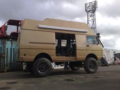 Camper Vans Pushing Things A Little Bit Further! camper vans are ordinary camper van conversions with the addition of a four wheel drive. 4x4 Camper Van, 4x4 Van, Off Road Camper, Truck Camper, Vw Lt 4x4, Motorhome, Iveco 4x4, Vw Syncro, Van Accessories