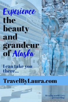 """Even if you are not a """"Cruise Person"""", there's no better way to see the major cities of Alaska and its phenomenal glaciers. Come with me as I share our day-by-day itinerary on the Island Princess, including a three-day, pre-land tour and a ride on the truly unforgettable, Alaskan Rail. I can take you there! Read all about it here!"""
