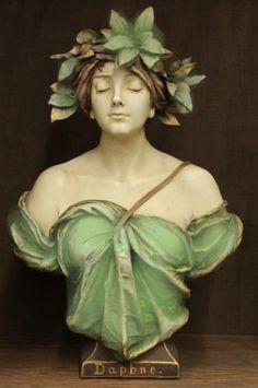 Daphne by Ernst Wahliss, Bohemia ca.1900