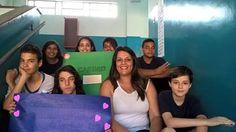 """""""Selfie de Responsa"""" Professora Homenageada pelos alunos do Colégio Carlos Côrtes. Professora de Geografia, Luciana Branco"""