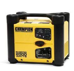Champion Power Equipment Portable and Parallelable Inverter Watt Generator 2000 Watt Generator, Power Generator, Yamaha Engines, Portable Inverter Generator, Champion, Modem Router, Sump Pump, Equipment For Sale, Ebay