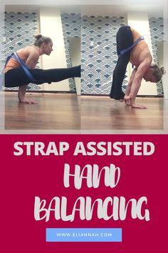Have you ever incorporated a yoga strap* into your hand balancing practice? If not, here's your chance! Just grab any standard 10 foot yoga strap* and your sense of adventure!  (Any shorter than 10 ft could be a real squeeze!) *Asterisks indicate affiliate links. If purchases are made...