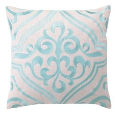 I pinned this Tile Pillow in Robin's Egg Blue from the Trina Turk & D.L. Rhein event at Joss & Main!
