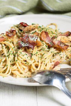 Spaghetti Carbonara (Weight Watchers)                                                                                                                                                     More