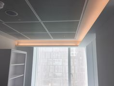 LEDGE coving profile by Optelma. Sharp, clean edges to your coving. #lighting #LED #architecture #lightingdesign #officelighting