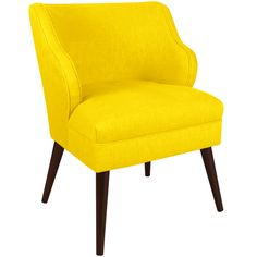 Made-to-Order Yellow Modern Chair | Overstock.com Shopping - The Best Deals on Living Room Chairs
