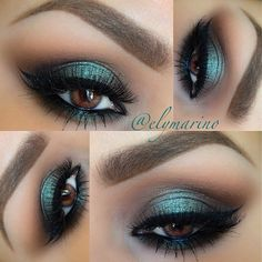 """Details on my look from earlier✨ @MakeupGeektv Pigment in the color """"Insomnia"""" was my inspiration!! Definitely one of my favorite Pigments  Crease/Corduroy (MAC) Blending color/Saddle (MAC) Inner & Outer Corners/Ground Brown (MAC pro color) Center of the lid/ Insomnia Pigment with a bit of Mermaid eyeshadow over top! both Makeupgeek Lashes/Femme Fatale from @houseoflashes Brows/ @Anastasiabeverlyhills Brow Powder Duo in Dark Brown with Espresso brow gel over top!! (LOVE this combo…"""