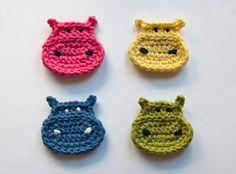 crochet hippo