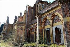 The abandoned Hafodunos Hall still stands in the North Wales countryside, just 10 miles from the coast. The mansion remained in good condition until it was targeted by arsonists in 2004 and consequently gutted by fire. The Hall was built between 1861 and 1866...