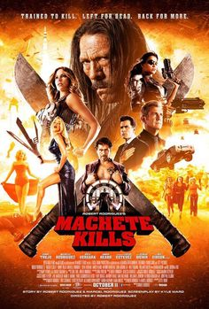 New movie poster for Machete Kills!