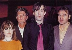 Candida Doyle and Jarvis Cocker of Pulp, and Morrissey Jarvis Cocker, Jools Holland, Johnny Marr, Happy Pictures, Britpop, Sheer Beauty, Frank Iero, Light Of My Life, Teenage Years