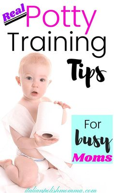 Real potty training tips and secrets fro busy moms