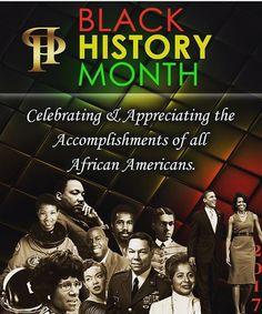 We #Celebrate #BlackHistoryMonth #AfricanAmericanHistoryMonth #February #EveryMonth #EveryDay #AllYear #America #American #BlackLivesMatter #AllLivesMatter #History