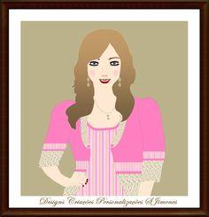 Criando e Personalizando: Design Arte Digital Ilustração Mascote Feminino
