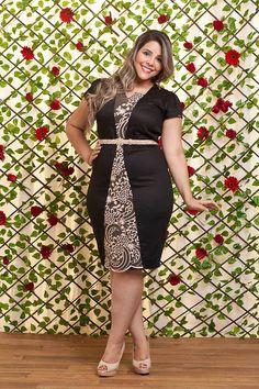 Plus Size Fashion Curvy Women Fashion, Plus Size Fashion, Girl Fashion, Fashion Outfits, Vestidos Plus Size, Plus Size Dresses, Plus Size Outfits, Looks Plus Size, Full Figure Fashion