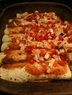 Vegan Enchiladas...I