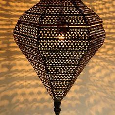 moroccan pendant light by idyll home | notonthehighstreet.com