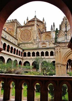 Monasterio de Guadalupe. Extremadura. España.