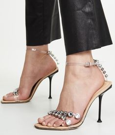 "Sandales Sergio Rossi ""SR Milano"", printemps-été 2019 Sergio Rossi, Stuart Weitzman, Stiletto Heels, Shoes, Fashion, Spring Summer, Sandals, Woman, Moda"