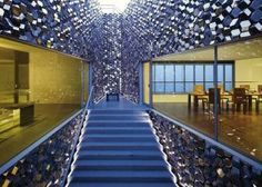 Contemporary Staircase/Hallway and Tadao Ando Architect & Associates in Tokyo, Japan