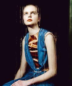 "Model: Julia Meyer   Photographer: Elizaveta Porodina - ""Pure Beauty"" for Vogue Ukraine"
