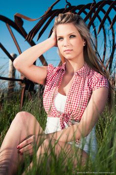 Summer photo of a friend Patrycja done somewhere in country side on west coast of Ireland