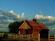 Anne Marie's barn.