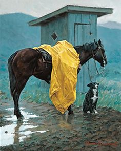 Somerset Fine Art - Rainy Days and Mondays by Thomas Lorimer