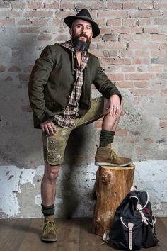 Trachten-Kollektion – Trachten Forstenlechner German Costume, German Men, Men In Heels, Winter Mode, Leather Trousers, Bearded Men, Traditional Dresses, Beards, Sexy Outfits