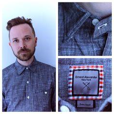 Dapper Stuff: Ernest Alexander's Calder Work Shirt