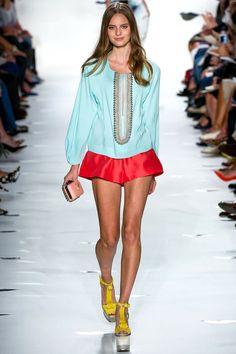 Diane von Furstenberg Spring 2013 Ready-to-Wear Collection Slideshow on Style.com