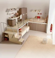 Teen Girl Bedrooms - Sweet and awe inpsiring teen room decor ideas. Desperate for other super teen room styling information why not jump to the image for the pin suggestion 5297022466 now Bedroom Loft, Dream Bedroom, Kids Bedroom, Girl Bedrooms, Loft Room, Child's Room, Childrens Bedroom, Pretty Bedroom, Bedroom Small