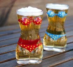 Lady Torso Bikini Beer Mug – $30