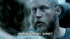 Ragnar knows what's up!!! You cold have sex with him in front of the kids for all care....... She should have been with her children, watching over them!!