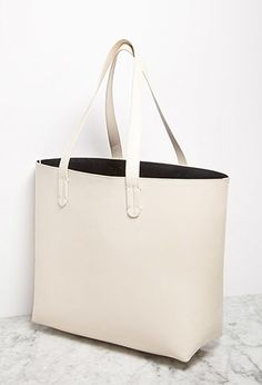 Faux Leather Tote and Pouch from Forever 21 $29,90